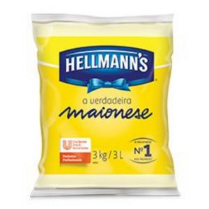 Maionese Hellmann's bag 3kg