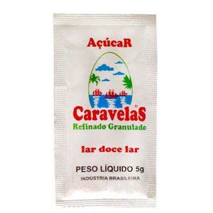 SACHE AÇÚCAR CARAVELAS 1000X 5GR