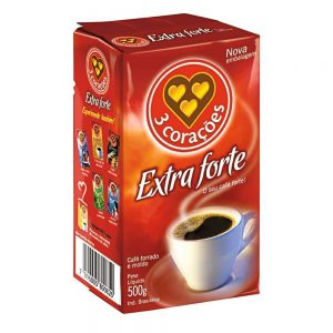 CAFE 3 CORACOES EX FORTE VACUO 500G