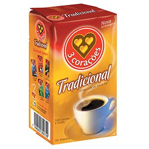 CAFE 3 CORACOES TRADICI VACUO 500GR