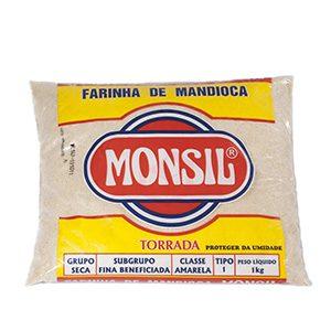 FARINHA DE MANDIOCA MONSIL TORRADA 1KG