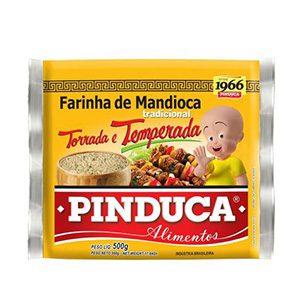 FARINHA DE MANDIOCA PINDUCA TEMPER 500GR